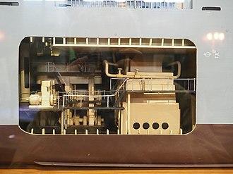 Liberty ship - Engine Room