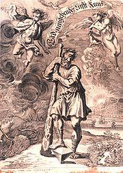 Erasmus Francisci: Kiklop, 1680.