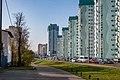 Lieanida Biady street and Uschodni lane (Minsk) 3.jpg