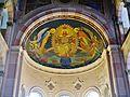 Liepaja Katholische Kathedrale St. Joseph Innen Apsis.JPG