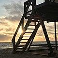 Life guard tower at Aliso Creek Beach in Laguna Niguel, CA.jpg
