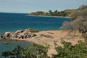 Likoma Island - Image: Likoma Island, Lake Malawi 0525