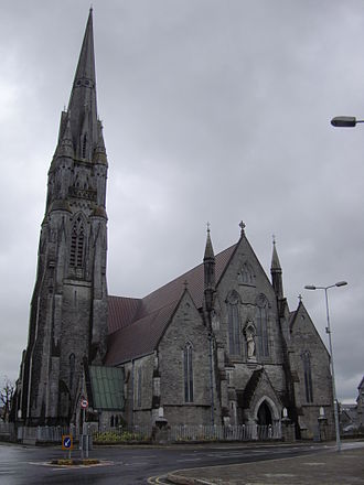 Bishop of Limerick - St John's Cathedral, Limerick, the episcopal seat of the Roman Catholic bishops.