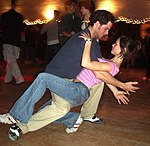 Lindy-Hop-Tanzpaar, Midtown Stomp, California, 2005