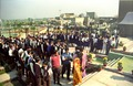Lined up School Students - Convention Centre Inaugural Ceremony - Science City - Calcutta 1996-12-21 077.tif