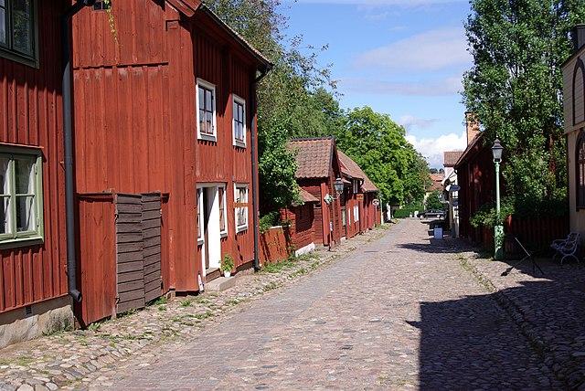 Straße Gamla Linköping