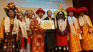 File:Lobsang Nyandak, Tibetan Lunar New Year - Losar 2147, New York, Tibet Fund