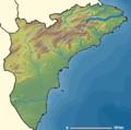 Localización del río Gorgos respecto a la provincia de Alicante.png