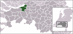 Location of Drimmelen
