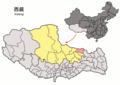 Location of Baqên within Xizang (China).png