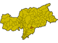Location of Völs am Schlern (Italy).png
