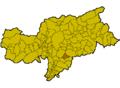 Location of Völs am Schlern (Italy).png