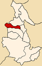 Location of the province Cangallo in Ayacucho.png