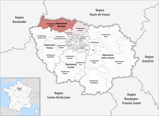 Arrondissement of Pontoise Arrondissement in Île-de-France, France