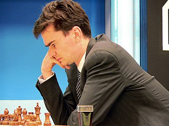Loek van Wely - Loek van Wely at the 2005 Corus chess tournament