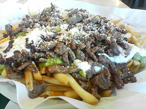 Carne asada fries - Carne asada fries