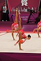 London 2012 Rhythmic Gymnastics - Italy 04.jpg
