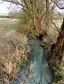 Looking east along a brook north of Braunston - geograph.org.uk - 1638713.jpg