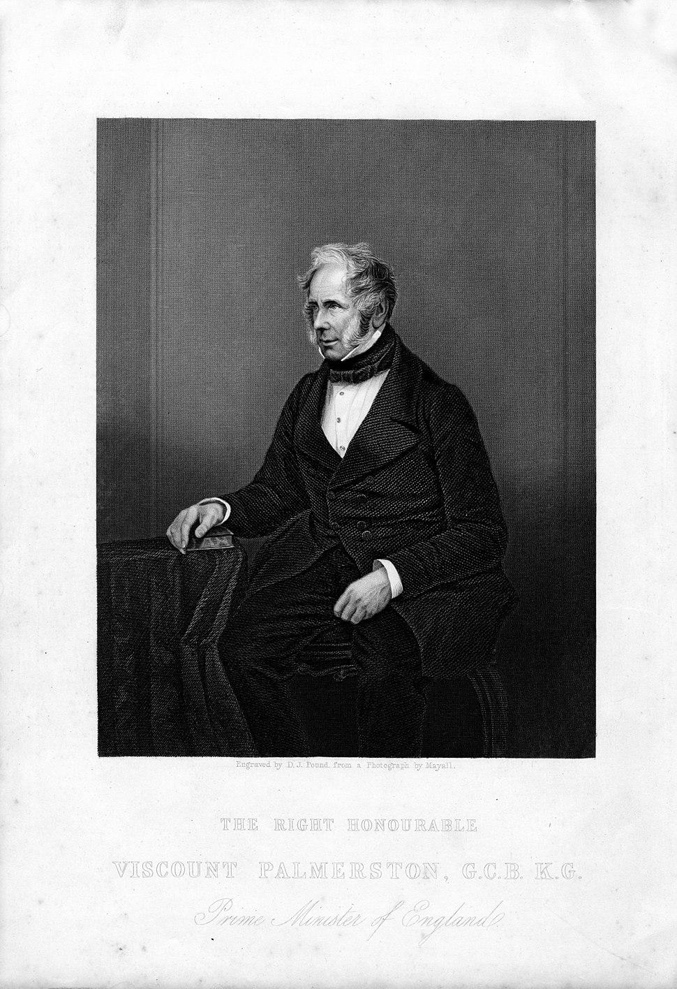 Lord Palmerston-engraving