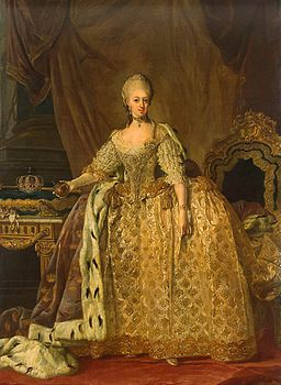 Lorens Pasch the Younger - Portrait of Queen Sophie-Magdalene - WGA17059.jpg