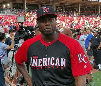 Lorenzo Cain - Cain at the 2015 All-Star Game