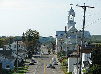 Lorrainville, Quebec - Image: Lorrainville QC