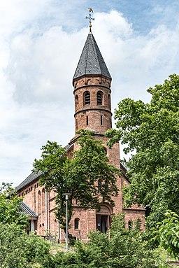 Evangelische Pfarrkirche Lorsch, Nibelungenstraße 23 20170609 002