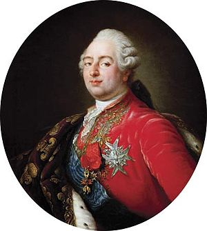 Portrait of Louis XVI of France