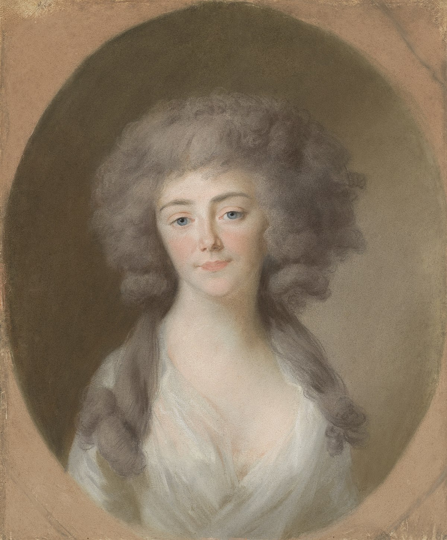 Louisa Isabella Alexandrina Augusta von Kirchberg (1772-1827). Echtgenote van Frederik Willem, vorst van Nassau-Weilburg, en schoonzuster van Augusta Maria Carolina van Nassau-Weilburg Rijksmuseum SK-A-416.jpeg