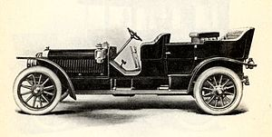 Lozier - 1908 Lozier, Model I (i) touring car