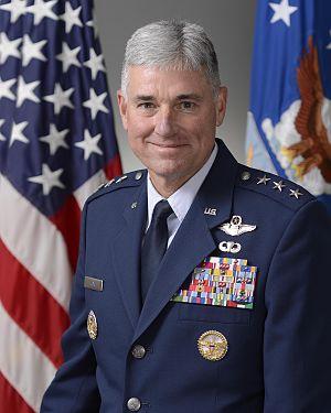 Samuel D. Cox - Image: Lt. Gen. Samuel D. Cox USAF