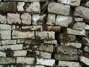Lubaantun - mortarless construction (detail)
