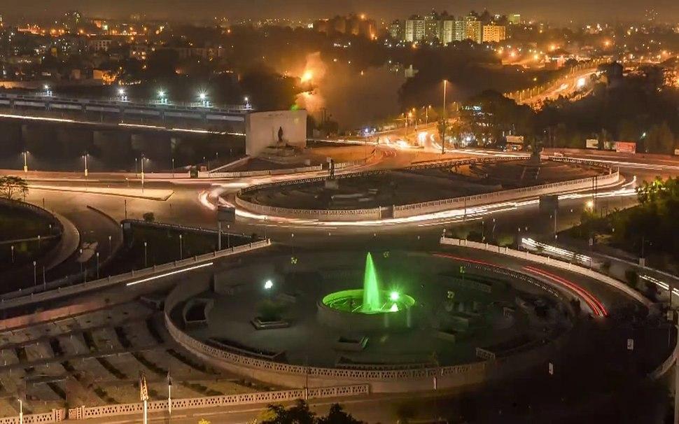 Lucknow Skyline From Gomti Nagar