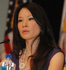Lucy Liu @ USAID Human Trafficking Symposium 01 (cropped).jpg