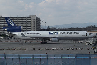WOW Alliance - Lufthansa Cargo MD-11F