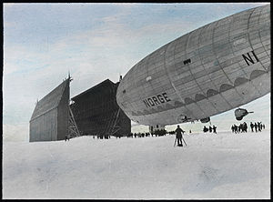 Ny-Ålesund - Norge in Ny-Ålesund on 7 May 1926