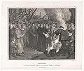 Luther verbrennt die päpstliche Bulle und das canonishe Recht vor Witteneberg, am 10 December 1520 - v. Löwenstern exc. LCCN2003671437.jpg