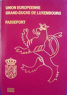 Visa requirements for citizens of Luxembourg