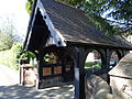 Lych gate, Holy Ascension Church, Upton by Chester.jpg