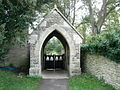 Lych gate, St Mary's Church, Cogges, Witney - geograph.org.uk - 310723.jpg