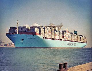 Triple E class container vessel