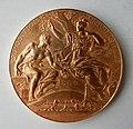 Médaille Exposition universelle 1889. Décernée à Gaston TISSANDIER (1843 1899). Graveur Louis-Alexandre Bottée (1852 1940) (1).JPG
