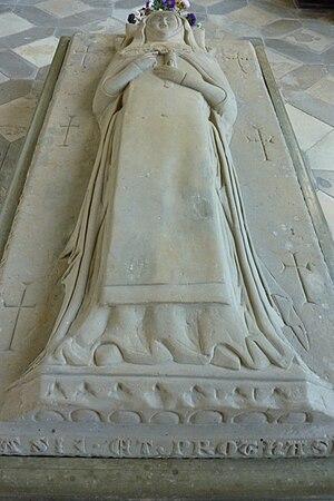 Margareta Ebner - Ebner's tomb in her old convent.