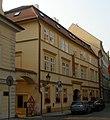 Měšťanský dům U Kuchyňků (Staré Město), Praha 1, Betlémská, Karoliny Světlé 3, Staré Město.JPG