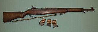 M1 Garand - M1 Garand with en bloc clips