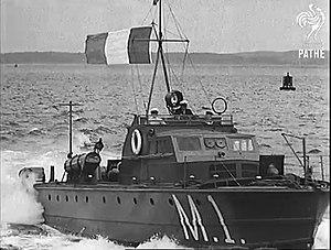 Irish Naval Service - M1 Irish Motor Torpedo Boat