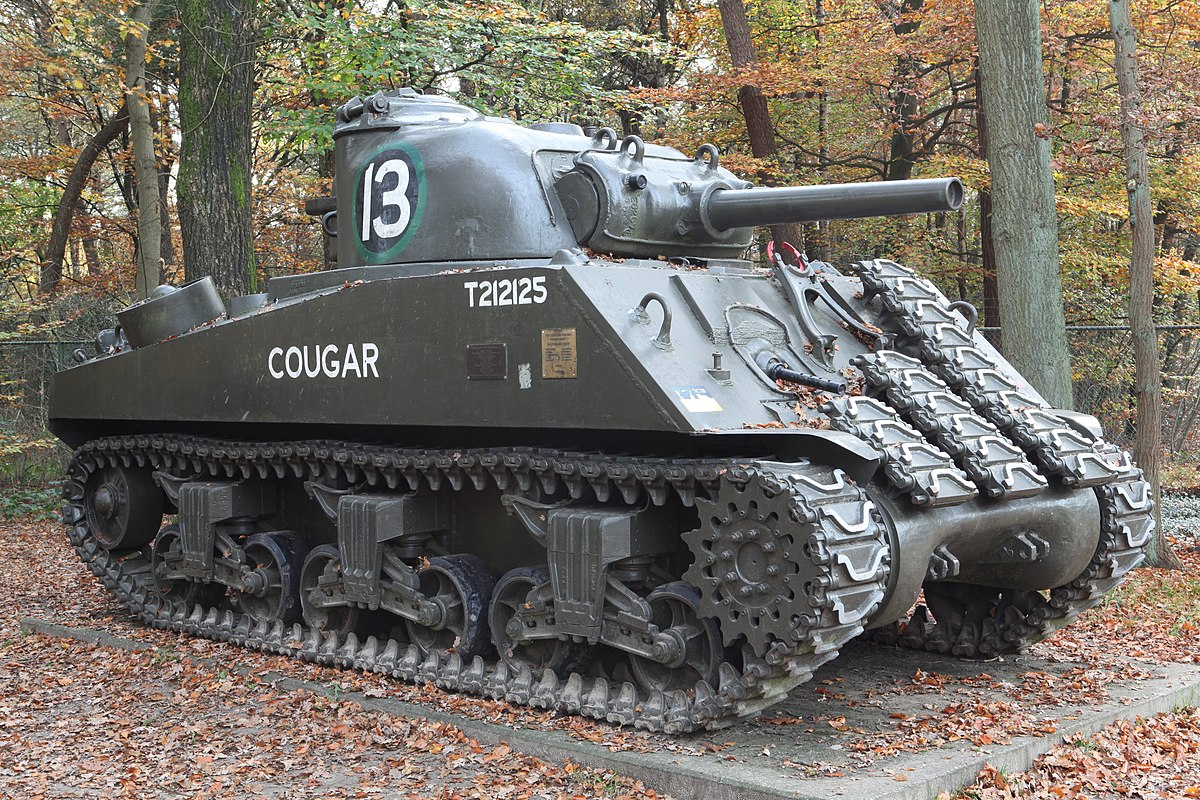 In Introduction to the World War II M4 Sherman Tank