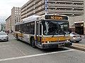 MBTA route 170 bus at Back Bay station, February 2017.JPG