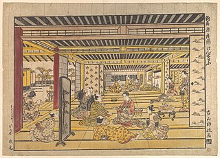 Japanese ukiyoe artist