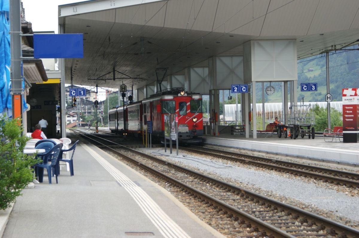 Disentis Mustér railway station Wikidata